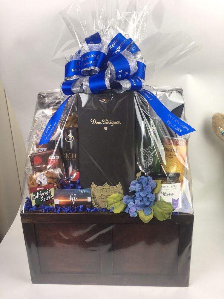 San Jose wedding gift basket