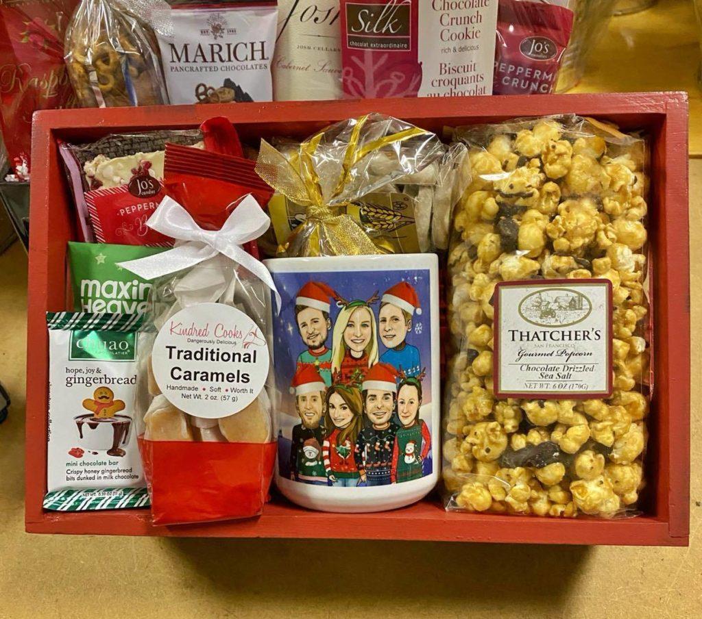 Holiday corporate gift box San Jose