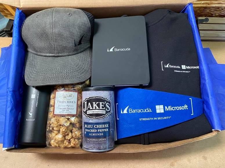 Microsoft gift box