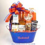 New employee appreciation gift basket image