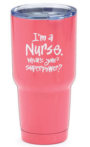 I'm a nurse tumbler