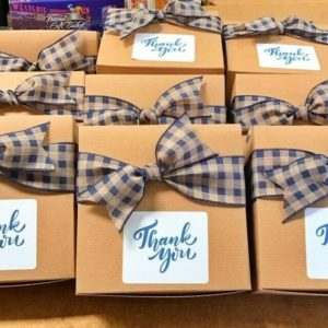 Thank You Box with Bow