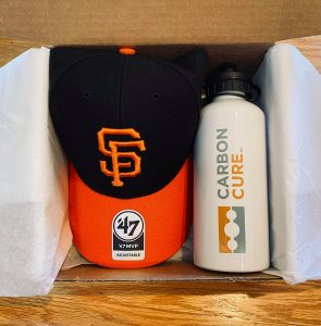 Personalized accessories cap and water bottle