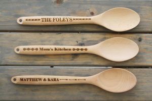Personalized accessories spoons